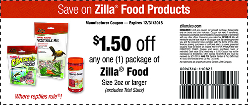 Zilla coupon - Save on zilla Food products