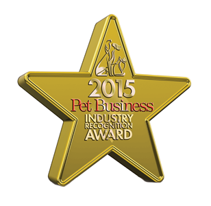 2015 Pet Business Industry Recognition Award