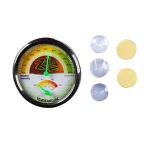 Humidity and Temperature Gauge with Suction cups