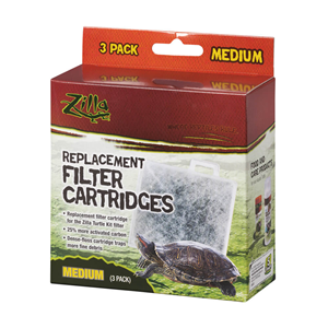 Zilla turtle kit filter replacement packaging