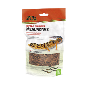 Zilla Mealworms Reptile Munchies