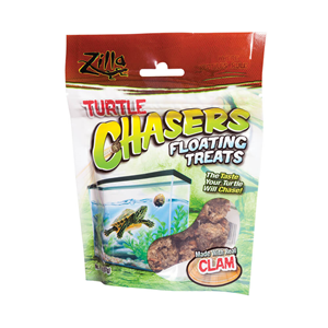 Natural Turtle Floating Treats in packaging