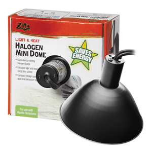 Energy Saving Halogen Mini Dome in packaging