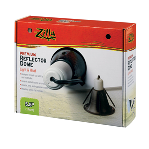 Zilla Light and Heat Premium Reflector Dome