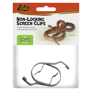 Zilla Non-Locking Screen Clips in Packaging