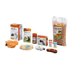 Deluxe Bearded Dragon Kit Contents