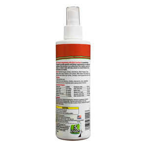 Zilla Reptile Vitamin Supplement with Beta Carotene Food Spray Ingredients